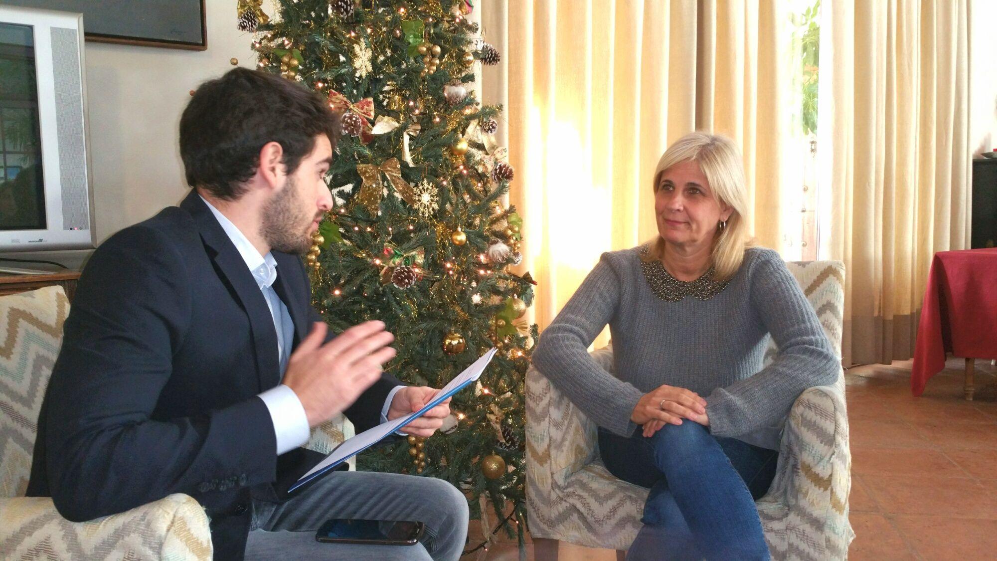 María José García-Pelayo en un momento de la entrevista concedida para Mira Jerez | DIC 2015 MIRA Comunicación