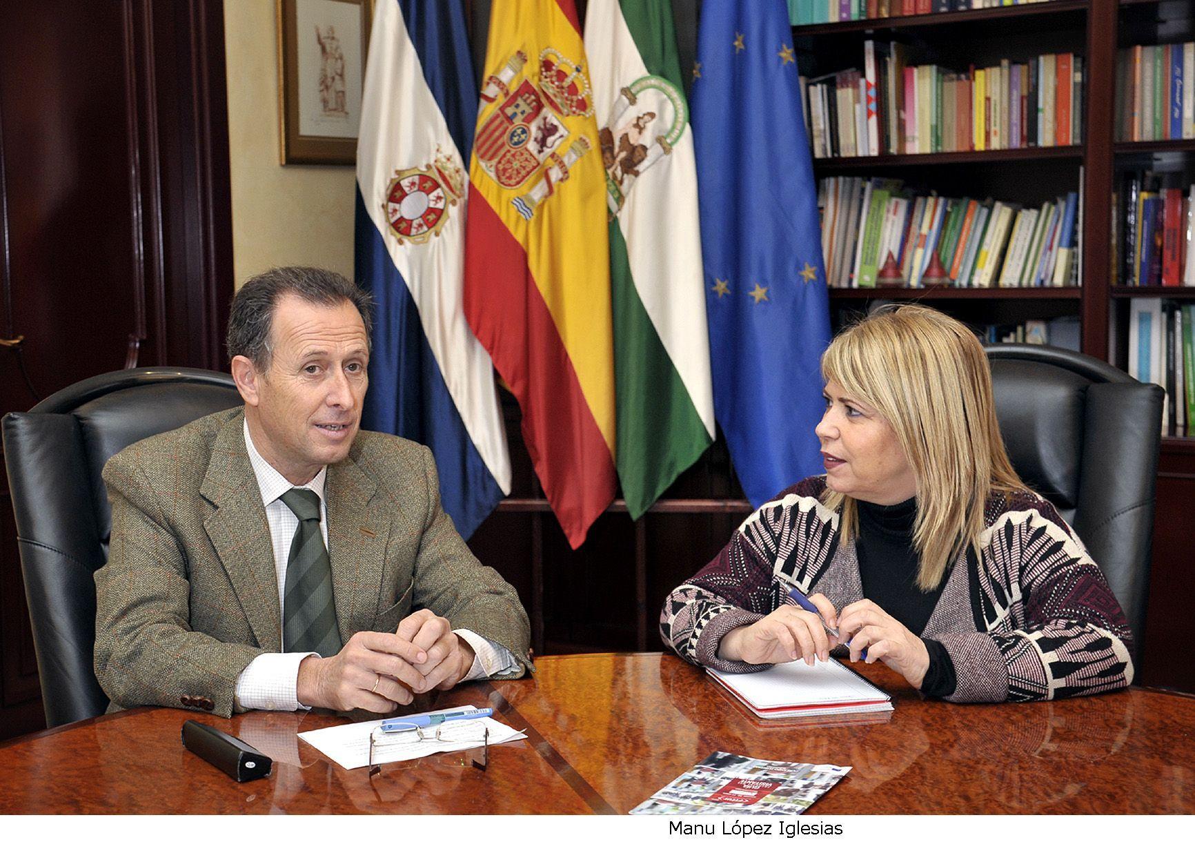 Alcaldesa recibe pres Mancomunidad Municipios Cadiz