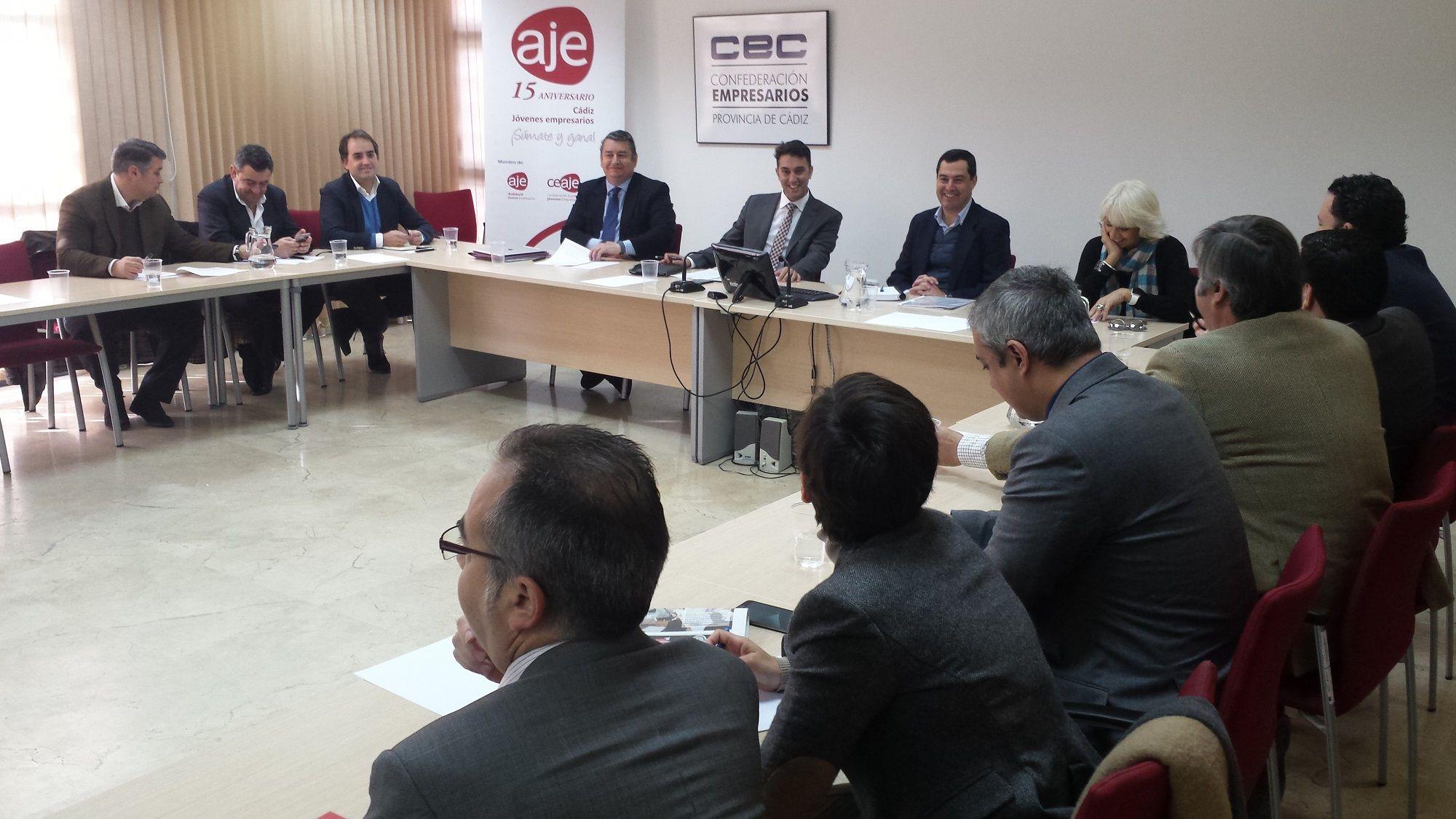 AJE CEC Juanma Moreno