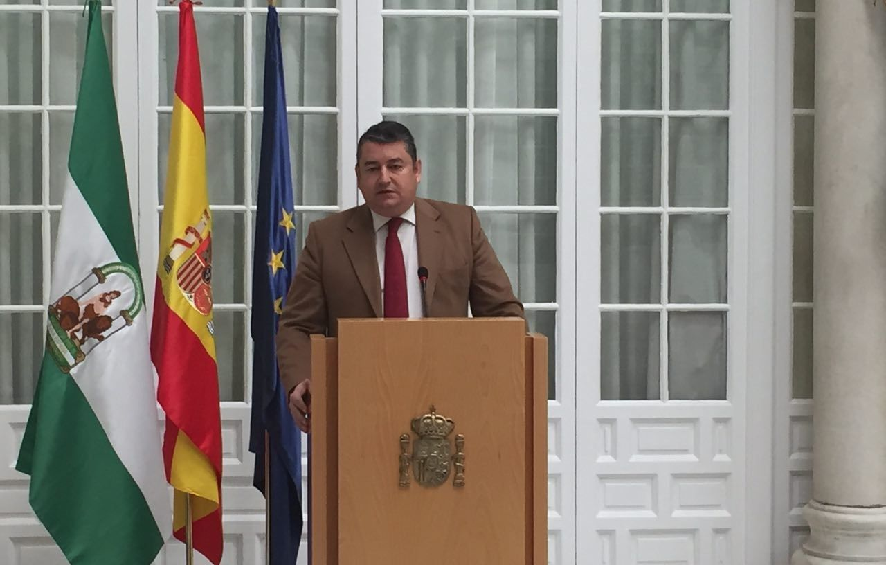 sanz delegado de gobierno andalucia