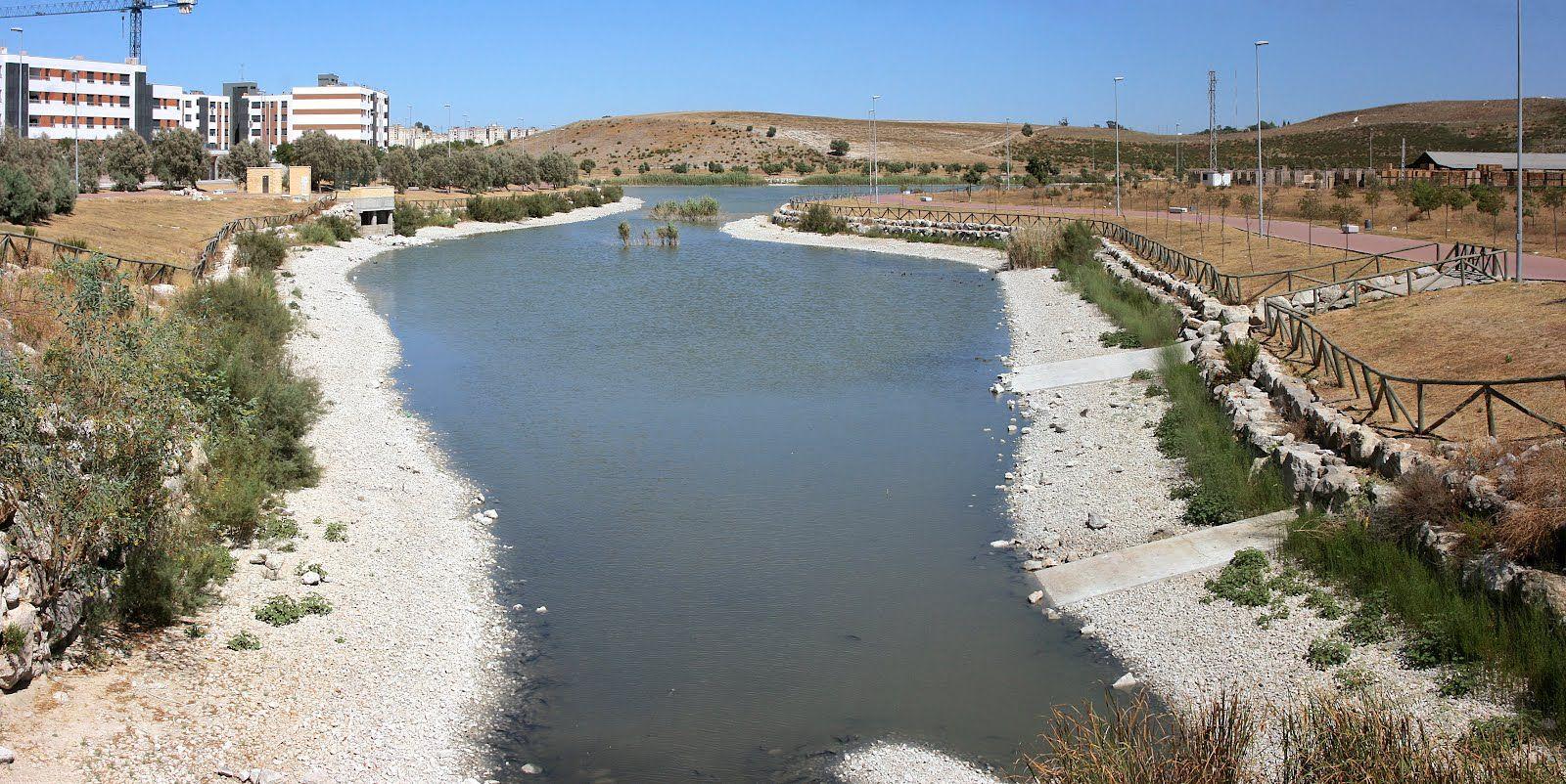 Panorama laguna Torrox