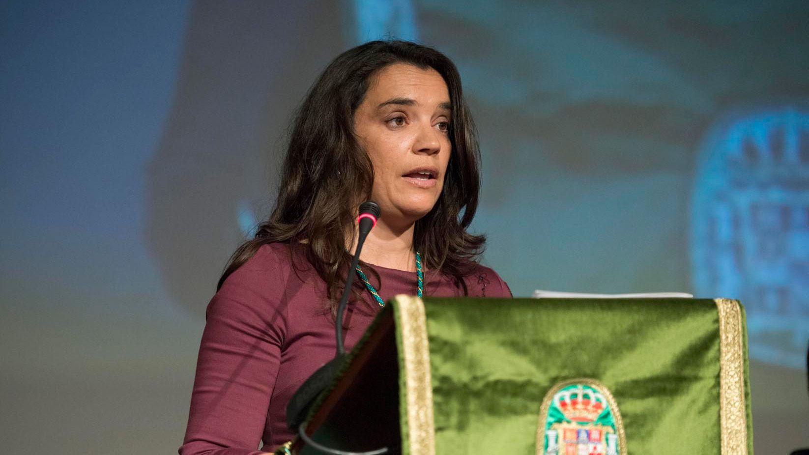 Rocío Montero durante un acto para la Diputación de Cádiz | Imagen de Rocío Hernández