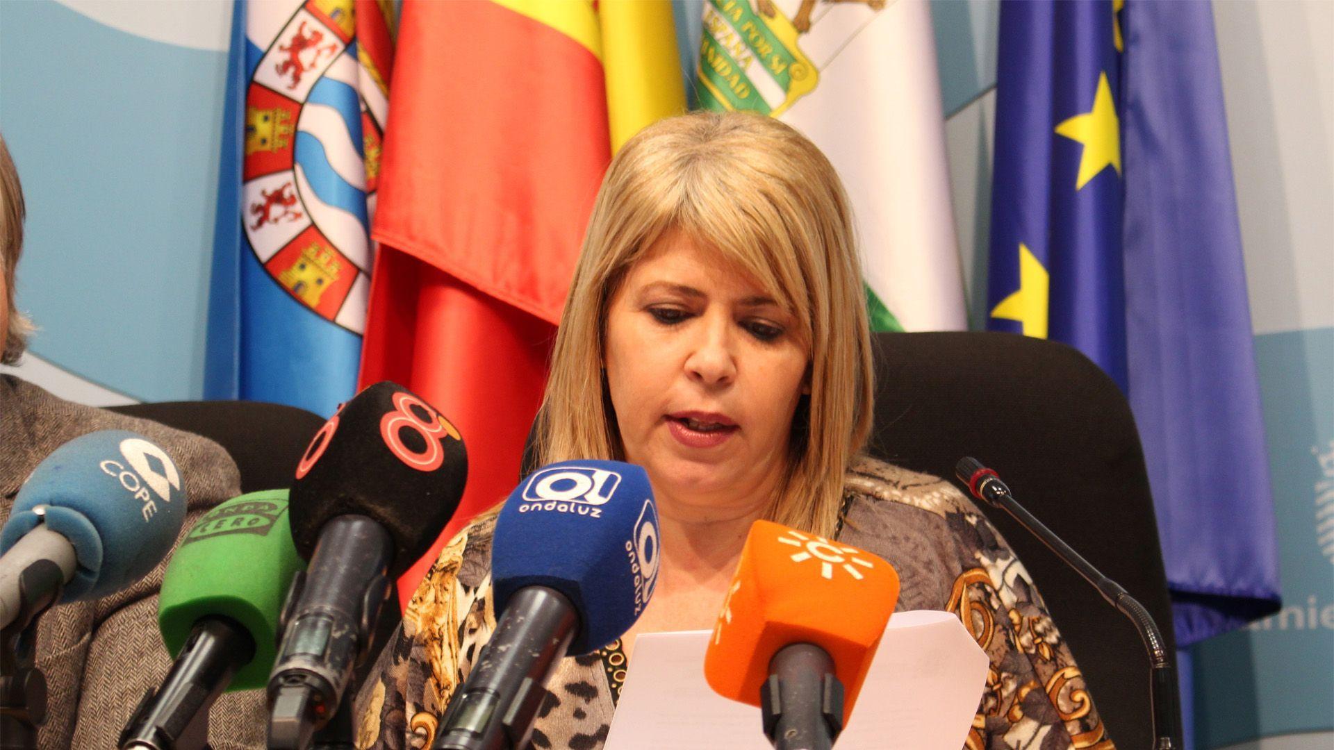 Mamen Sánchez en rueda de prensa | Eliot Navarro para MIRA Jerez