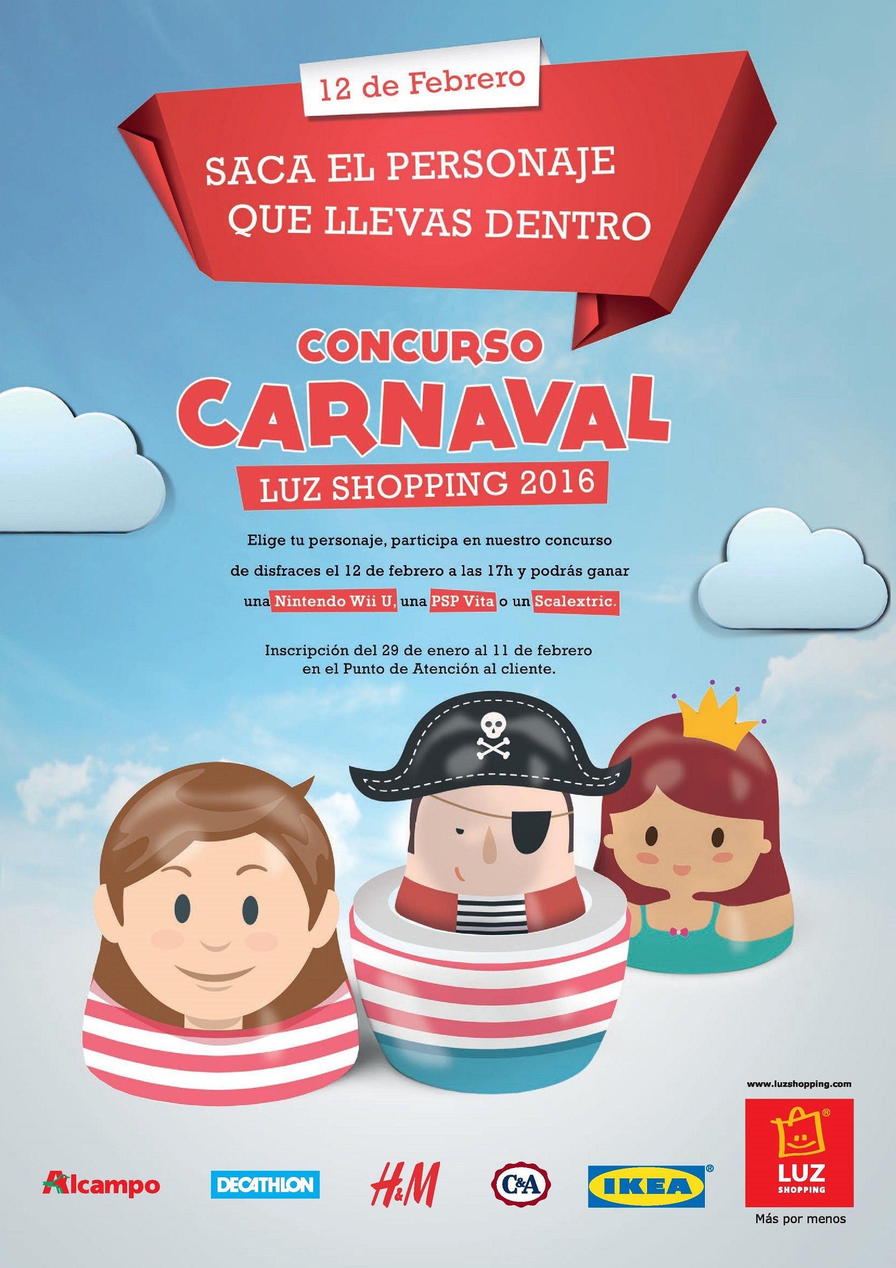 Carnaval LUZ Shopping