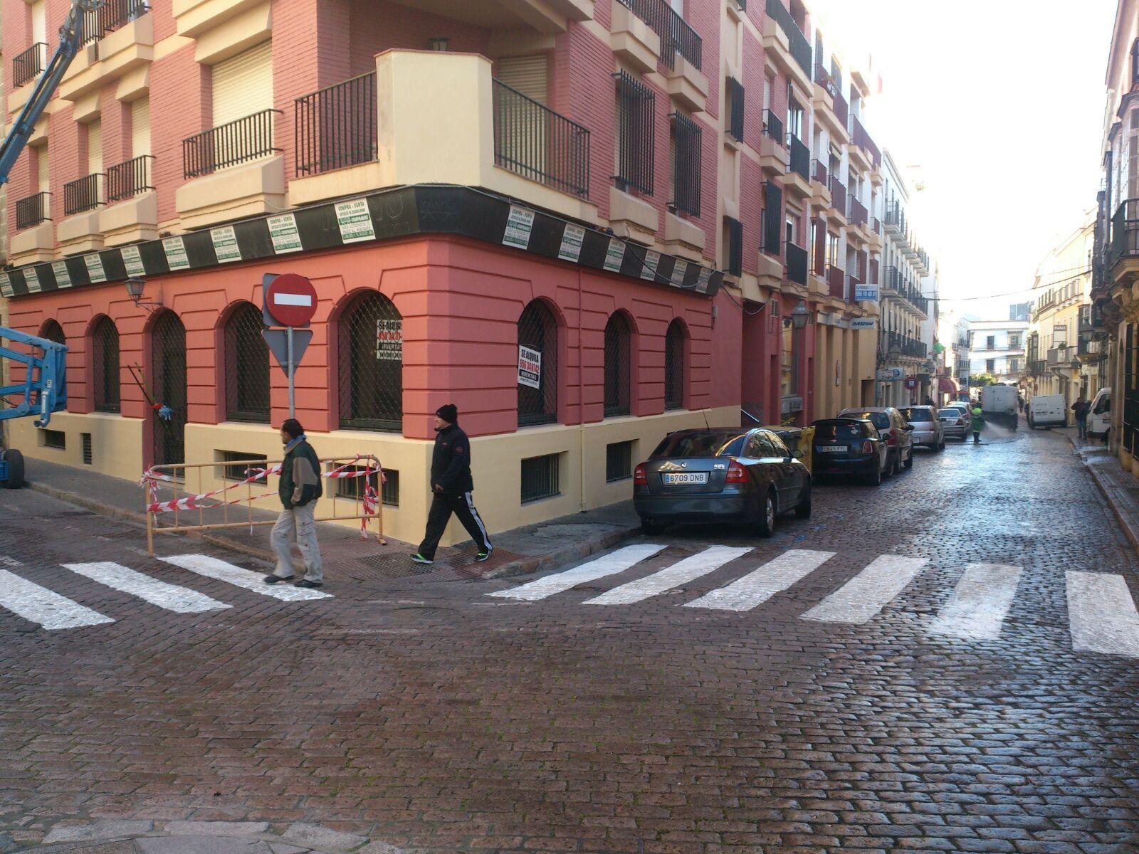 Repintado paso de peatones