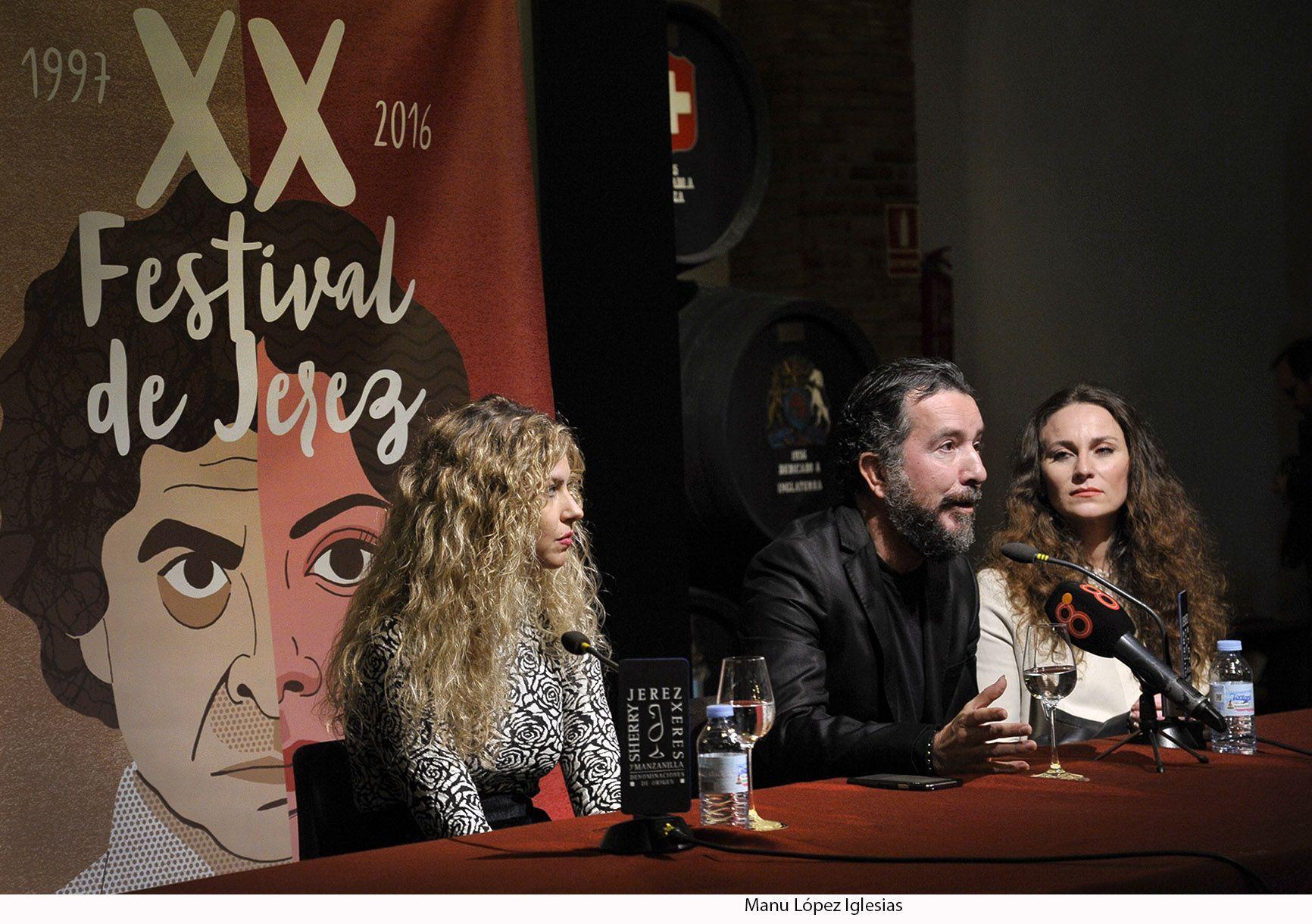 Rueda de prensa Festival de Jerez