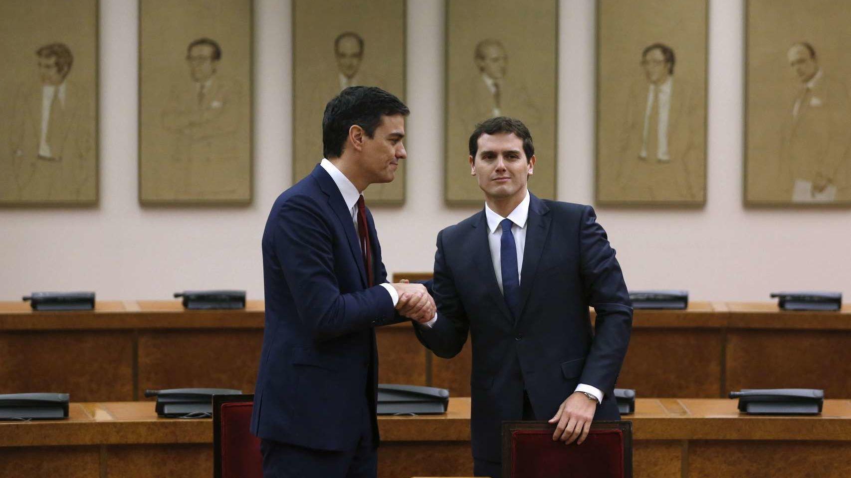 Pedro Sánchez acepta la propuesta de Ciudadanos | Fernando Alvarado para Efe