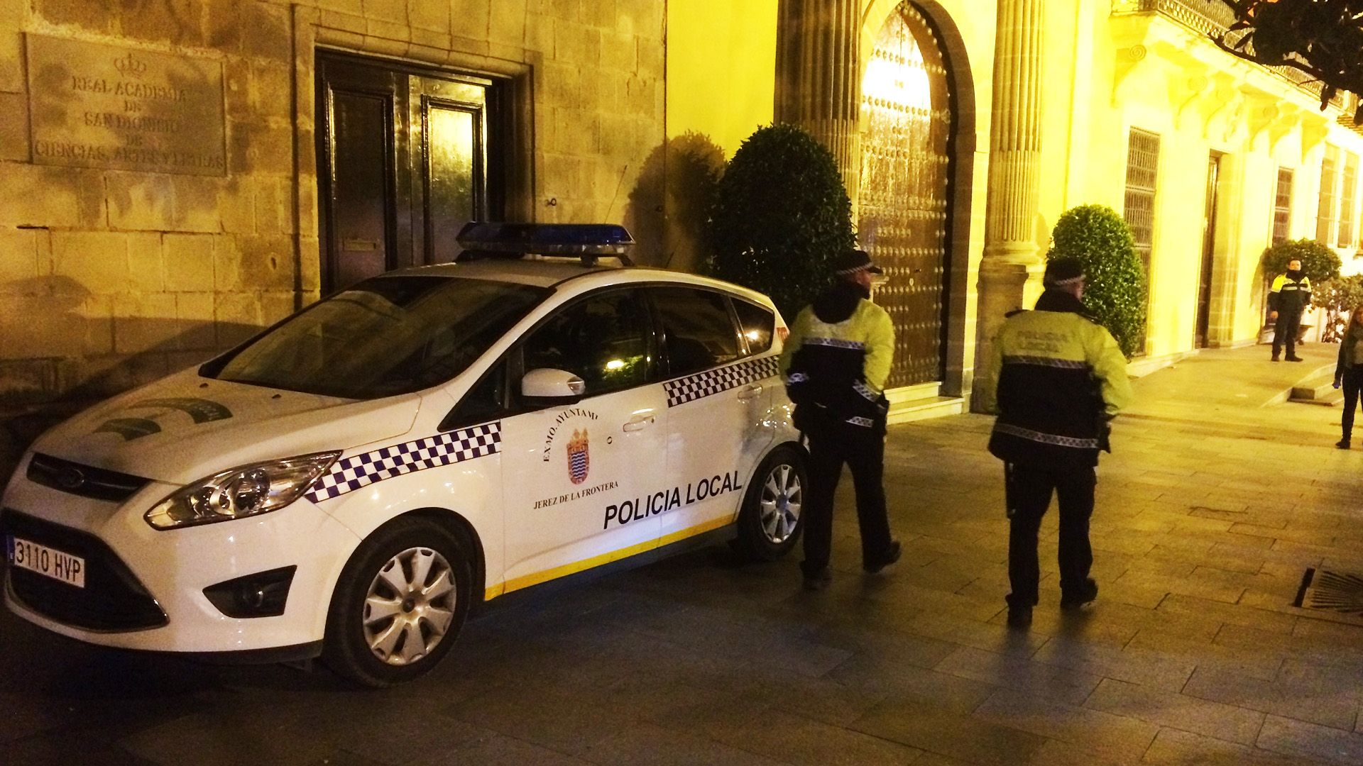 coche policia local ayuntamiento Jerez