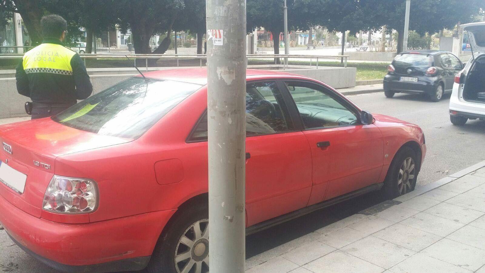 coche sustraido