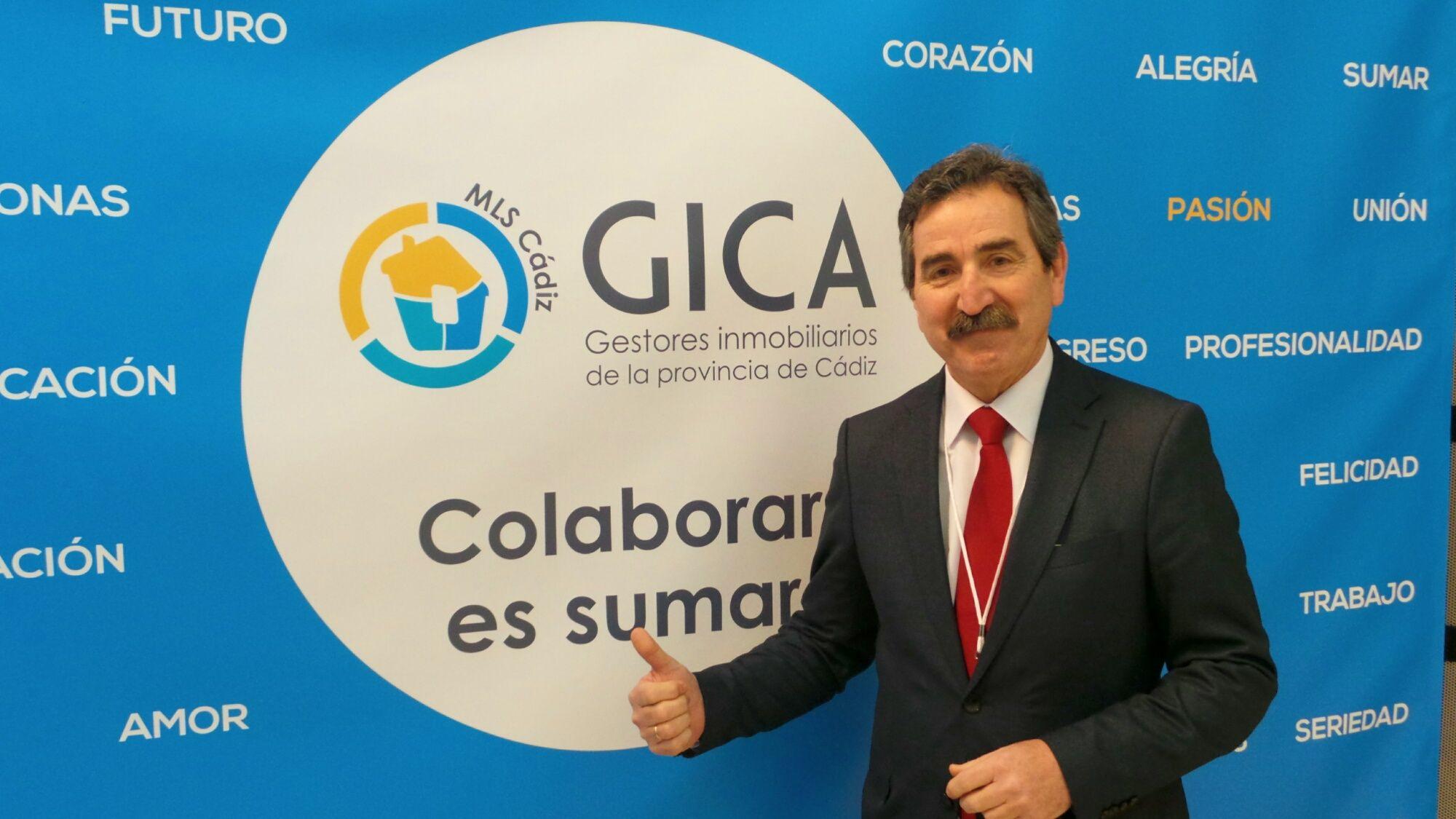 Eduardo Aparcero, presidente de GICA (Asociación de Gestores Inmobiliarios de la Provincia de Cádiz) | MIRA Comunicación