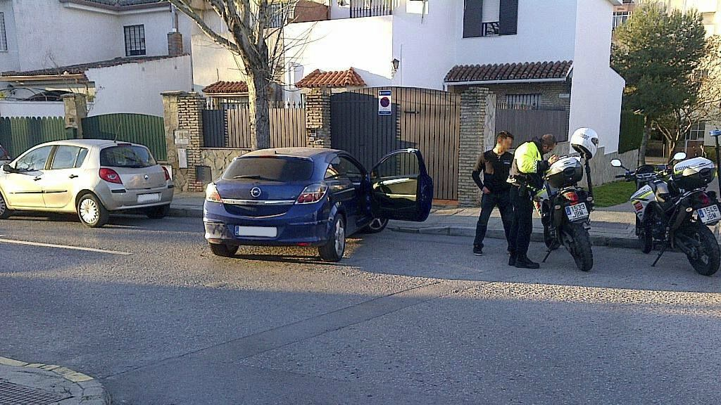 accidente con positivo en Jerez