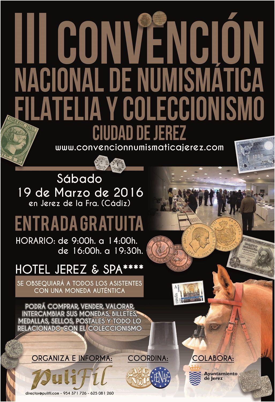 III Convencion Numismatica 2016