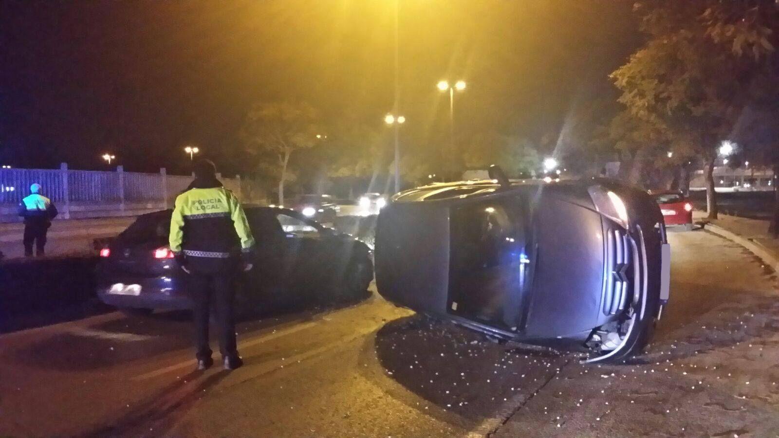Accidente Avenida Chema Rodriguez - Jerez 1
