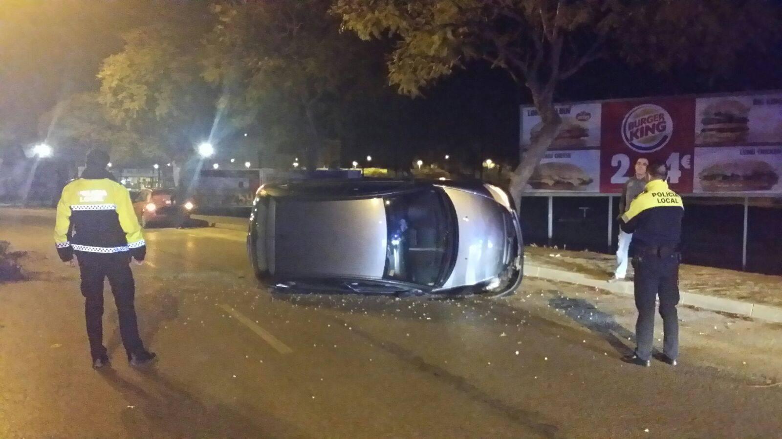 Accidente Avenida Chema Rodriguez - Jerez 2