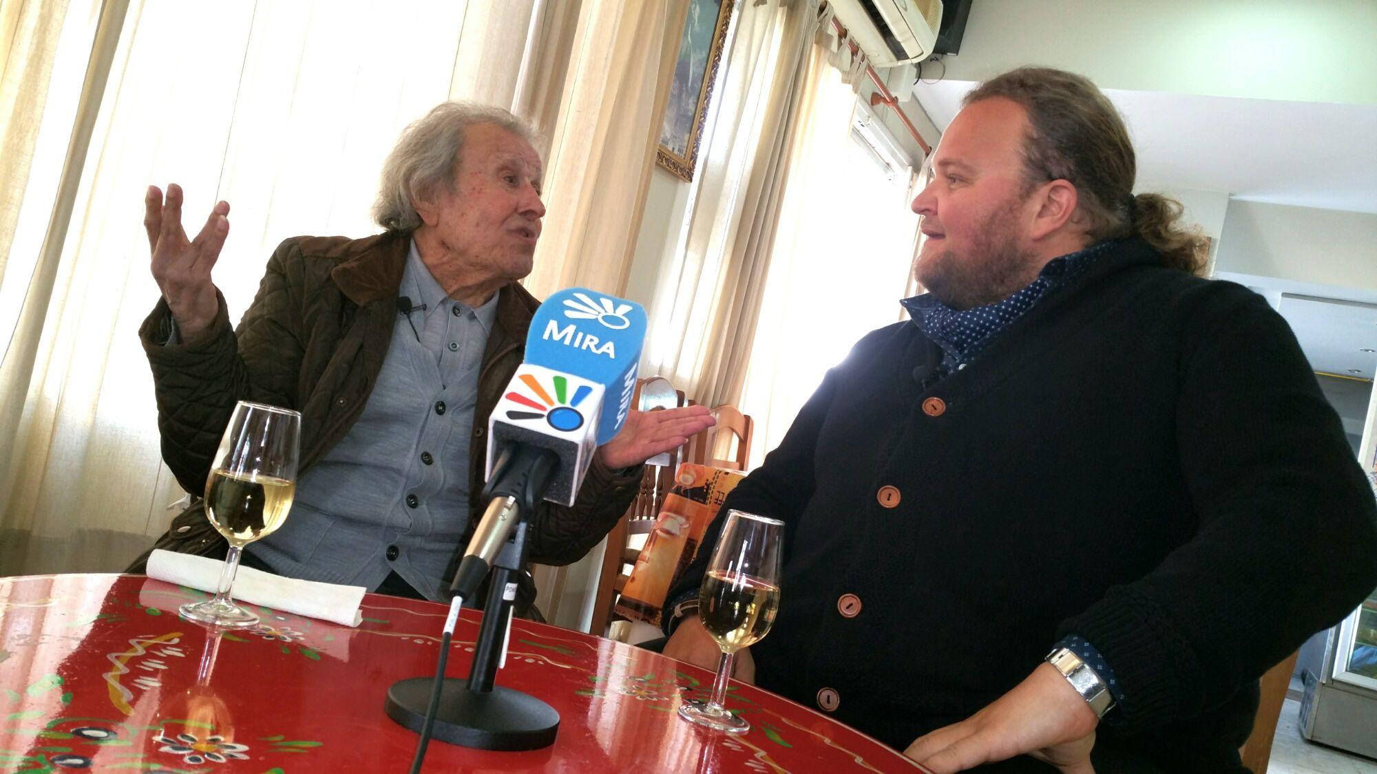 Juan Romero Pantoja junto a Ezequiel Benitez