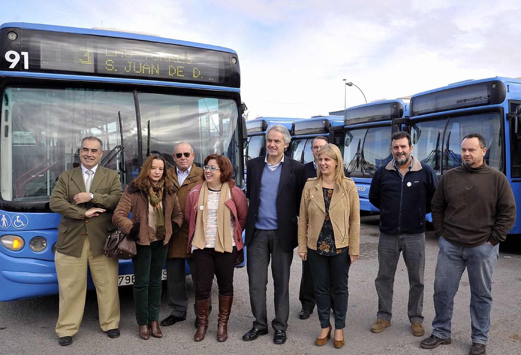 Alcaldesa-autobuses-urbanos