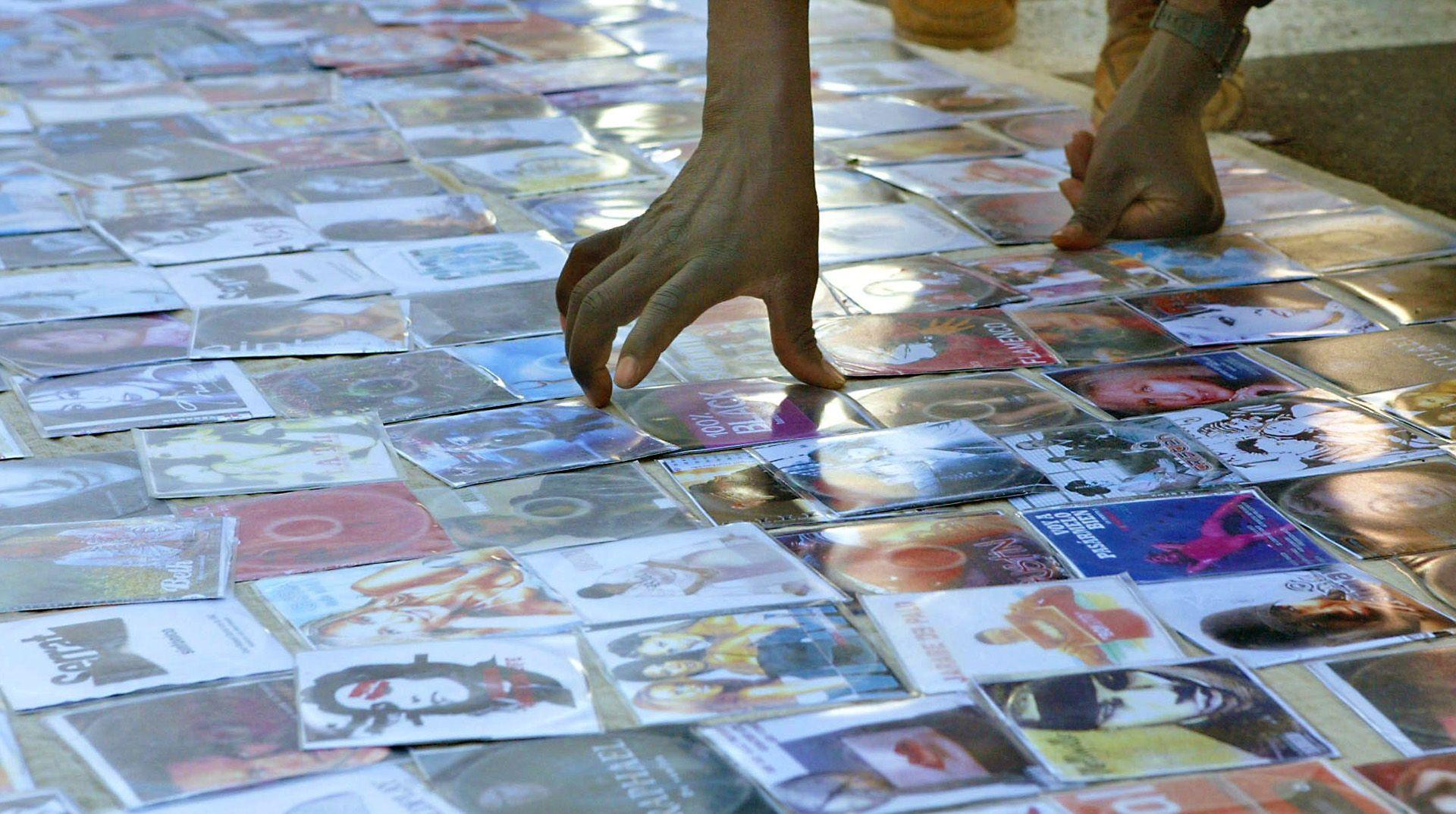 dvds falsificados
