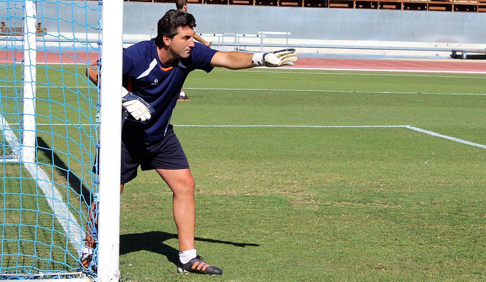 Imagen de Edu Villegas en un entrenamiento