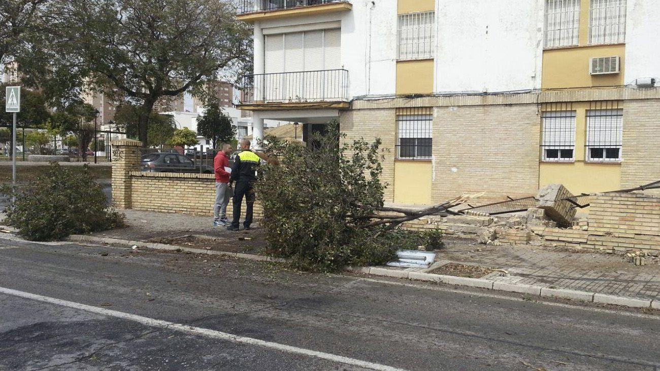 accidente en calle arcos jerez 1