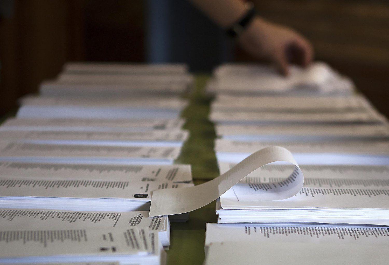 ambient votacions eleccions al parlament europeu. la sagrera. Barcelona.25-05-14.Foto de Celia Atset.Diari ARA.
