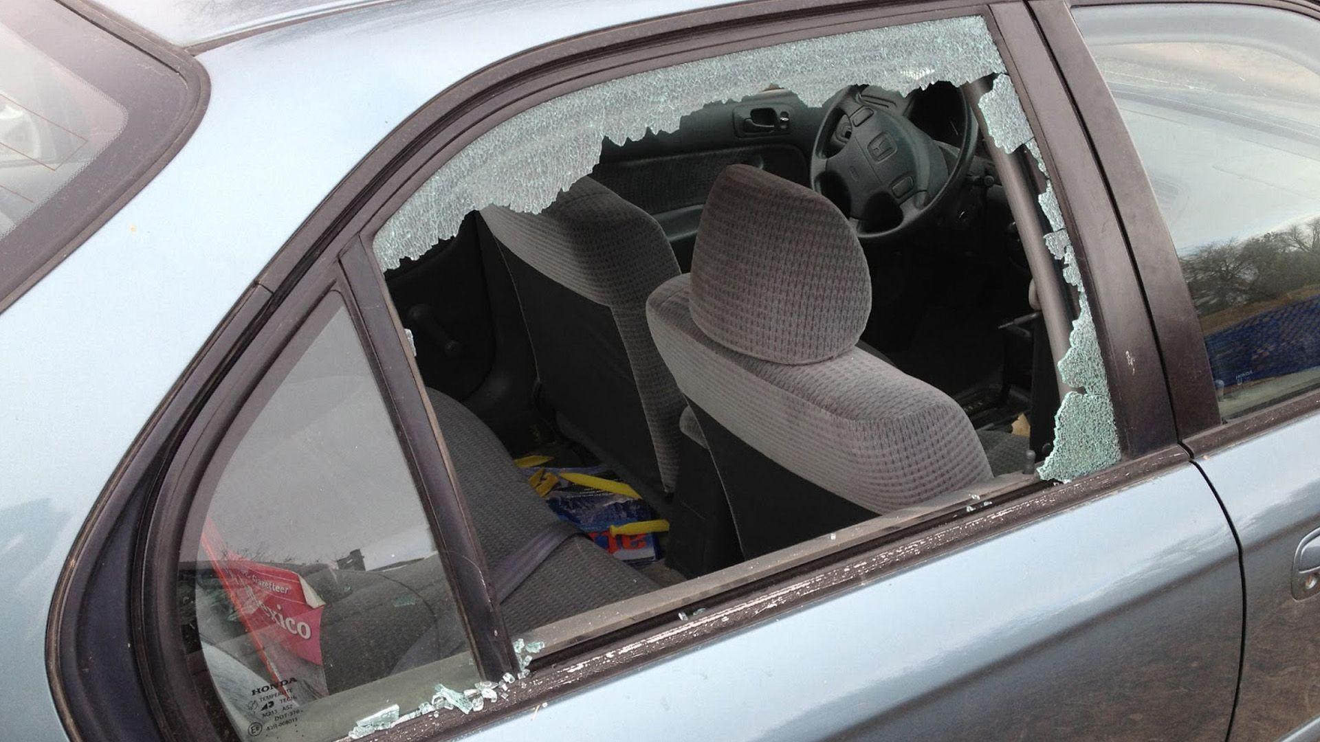 ventanas coche roto