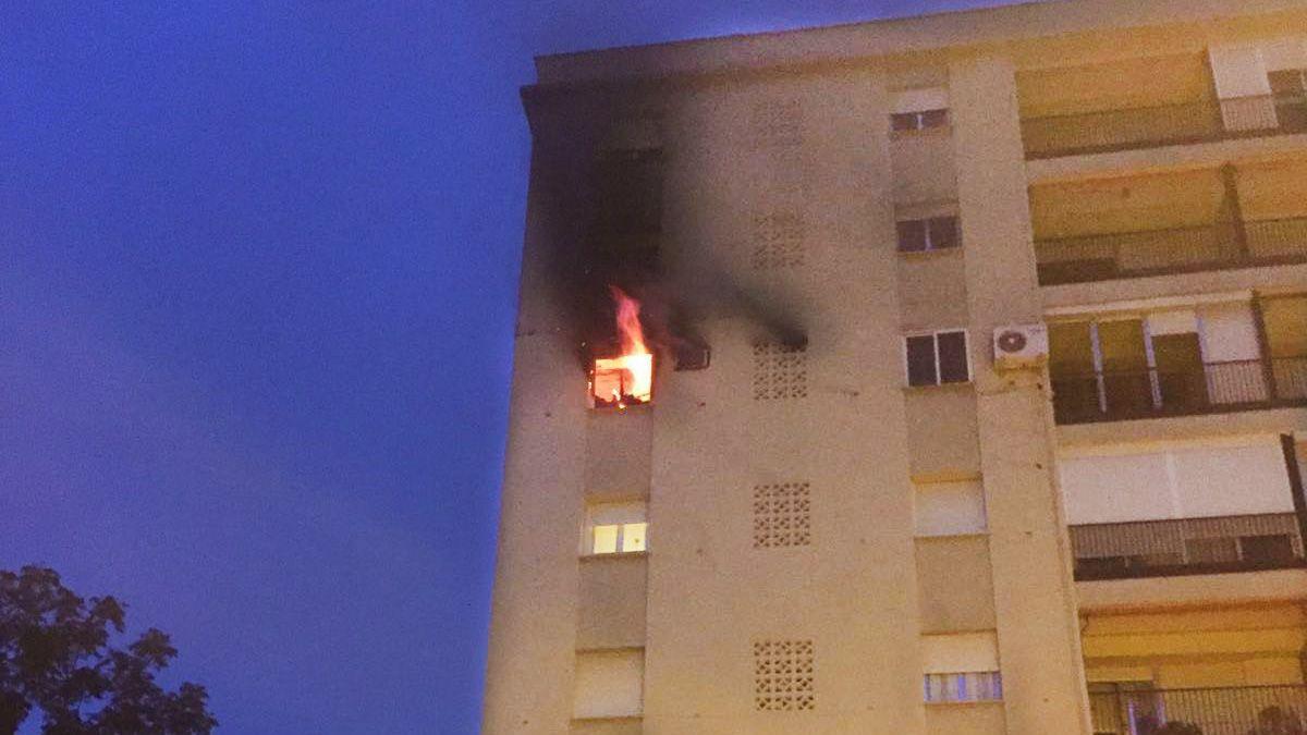 Incendio Jerez 1