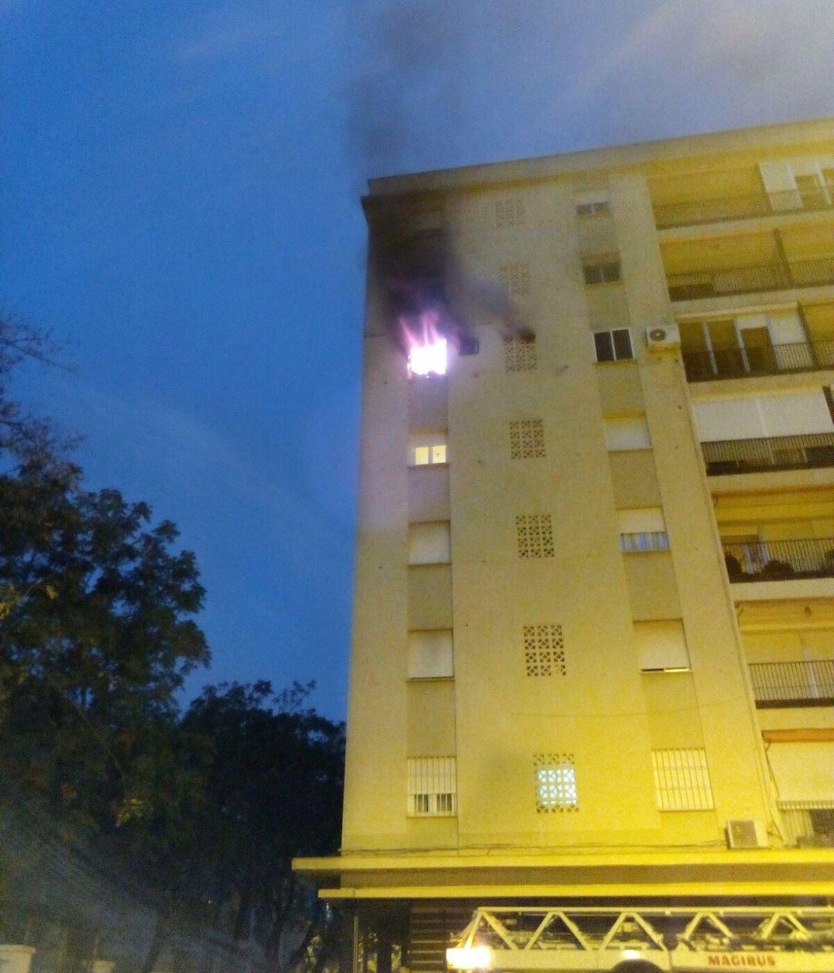 Incendio Jerez 2