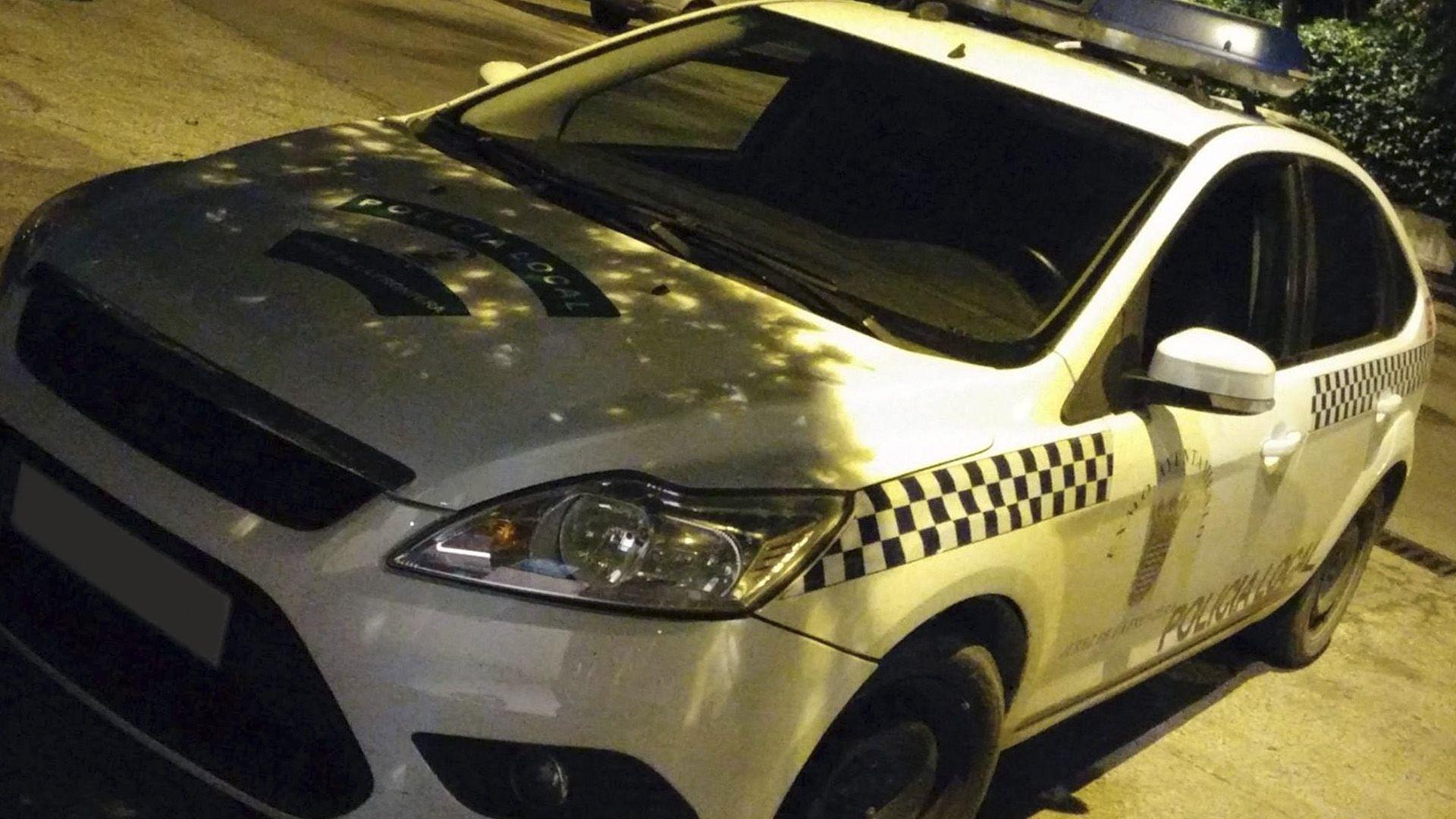 policia local coche radiopatrulla Jerez
