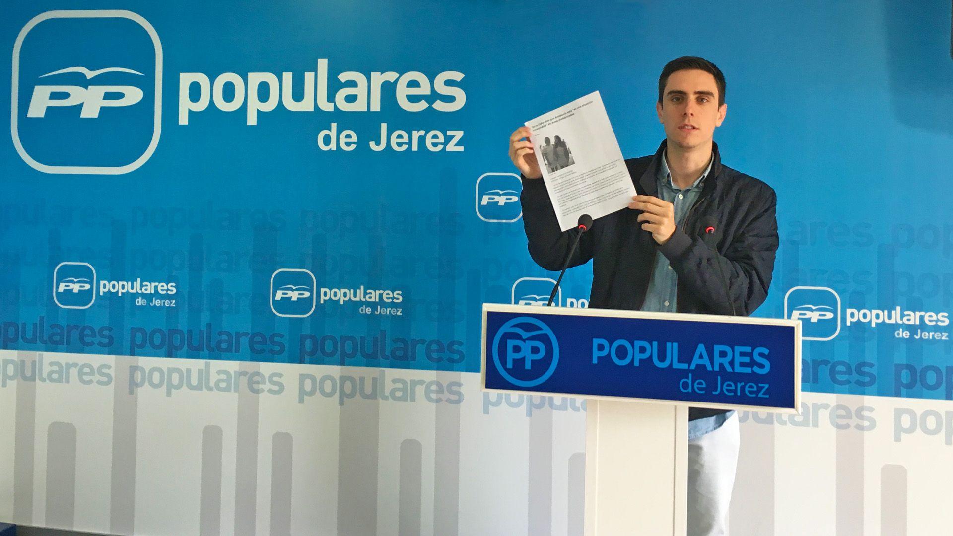 Jaime Espinar PP Jerez NNGG Jerez