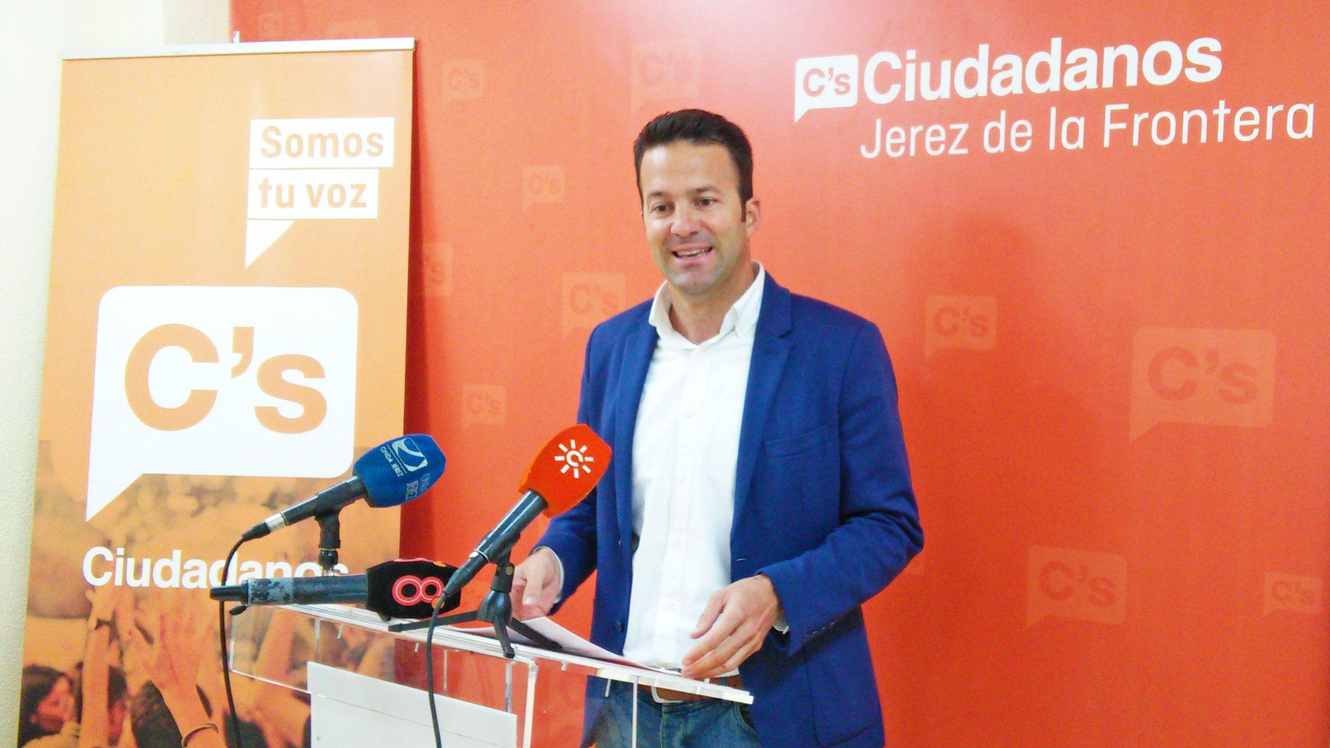 Carlos Perez Ciudadanos Jerez