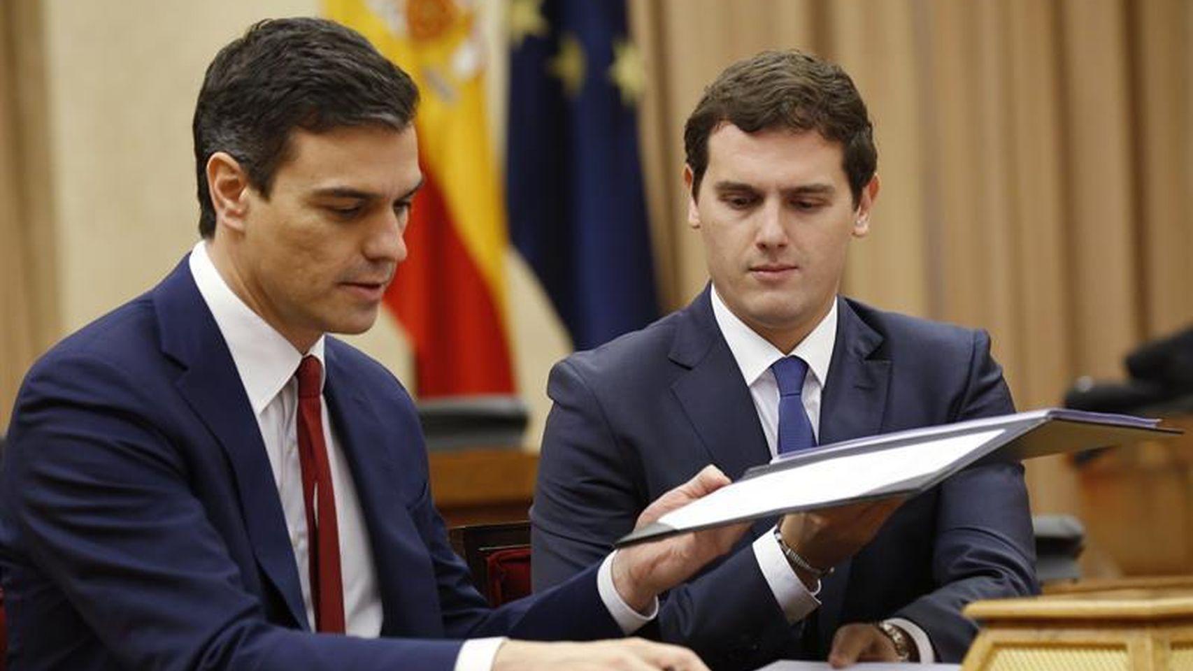 Pedro-Sanchez-Albert-Rivera-acuerdo