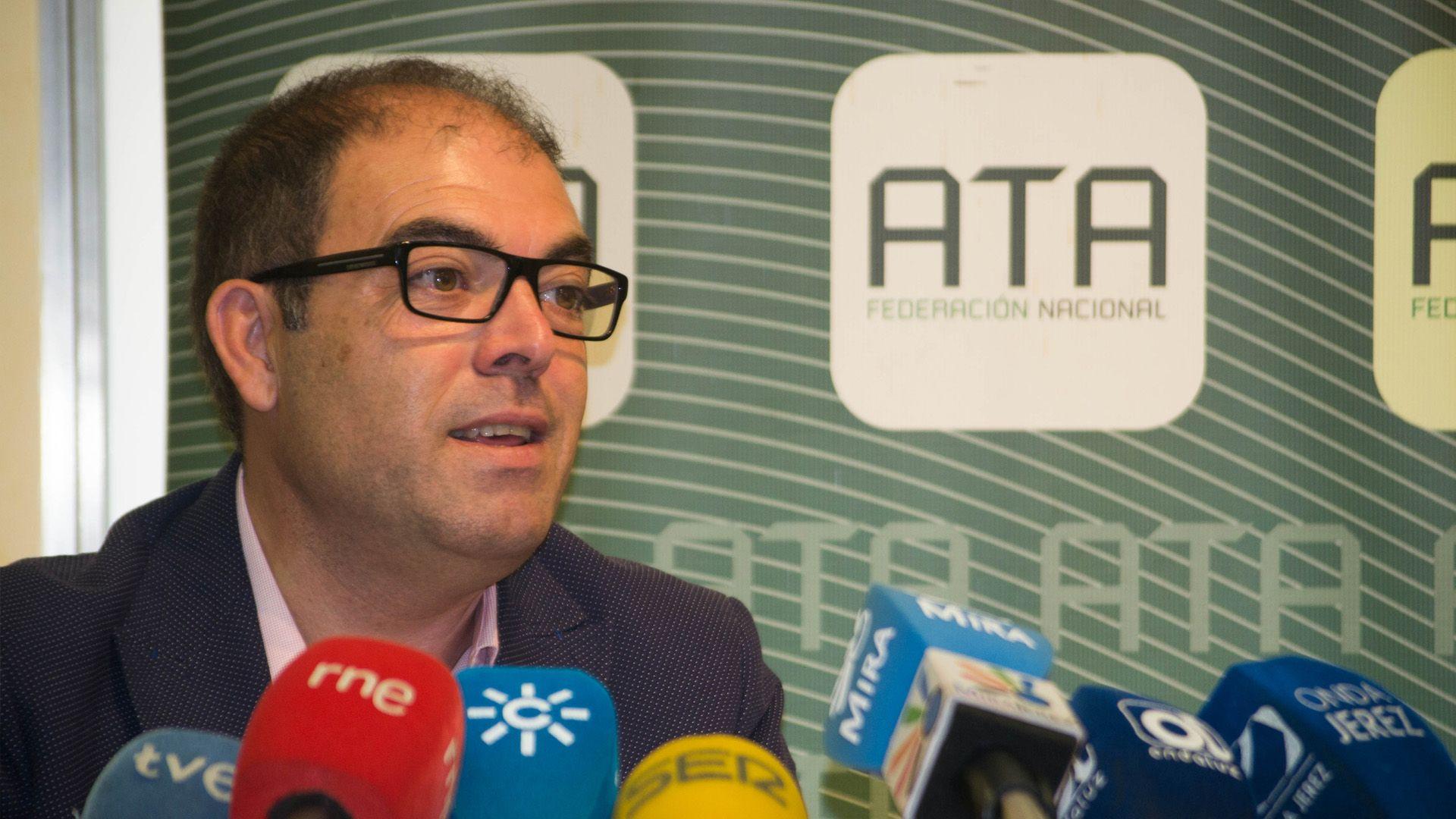 Lorenzo Amor en rueda de prensa | Pablo Illanas para MIRA Jerez