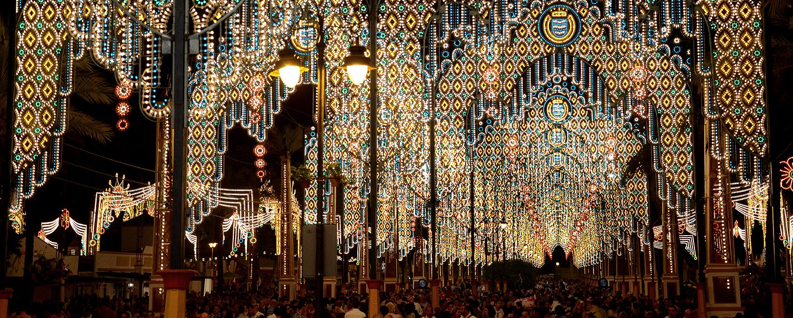 Feria alumbrado Jerez
