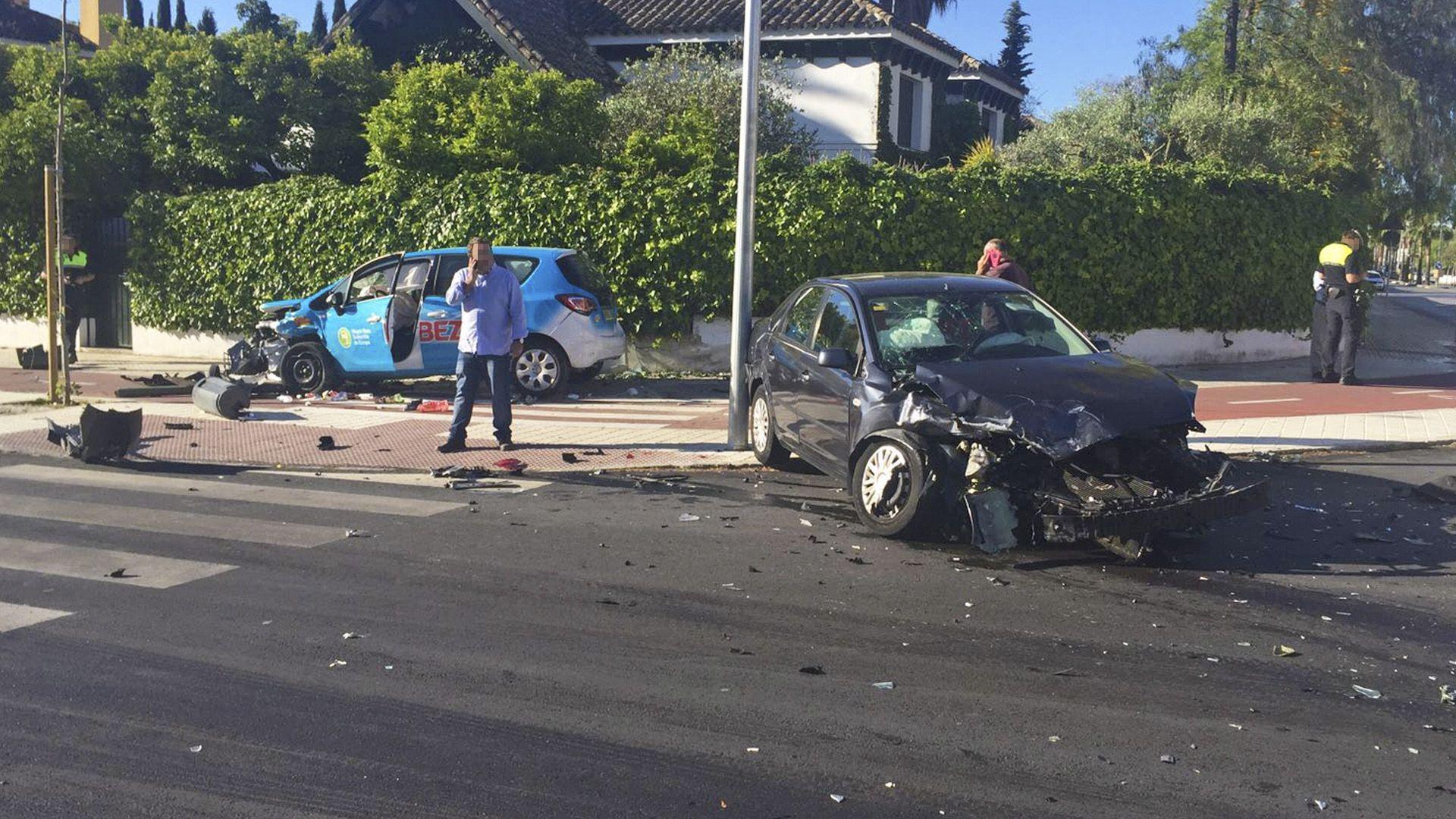 accidente coches