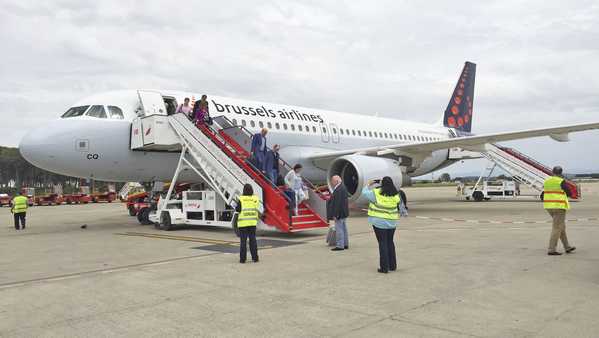 brussels airlines Jerez
