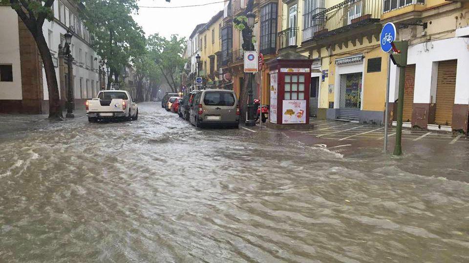 porvera inundacion