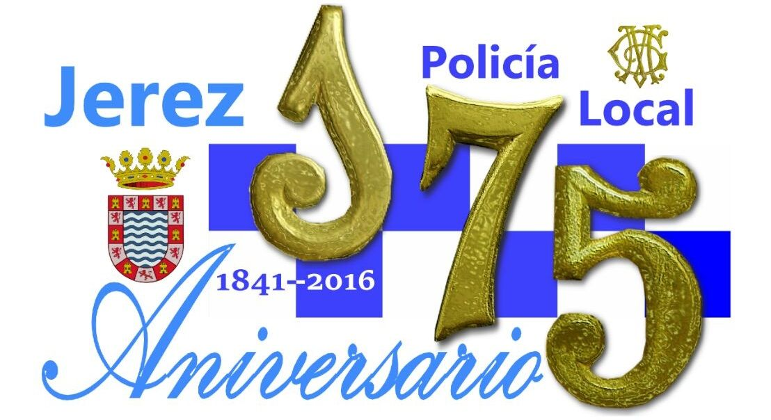 Logo 175 Aniversario Policia Local Jerez