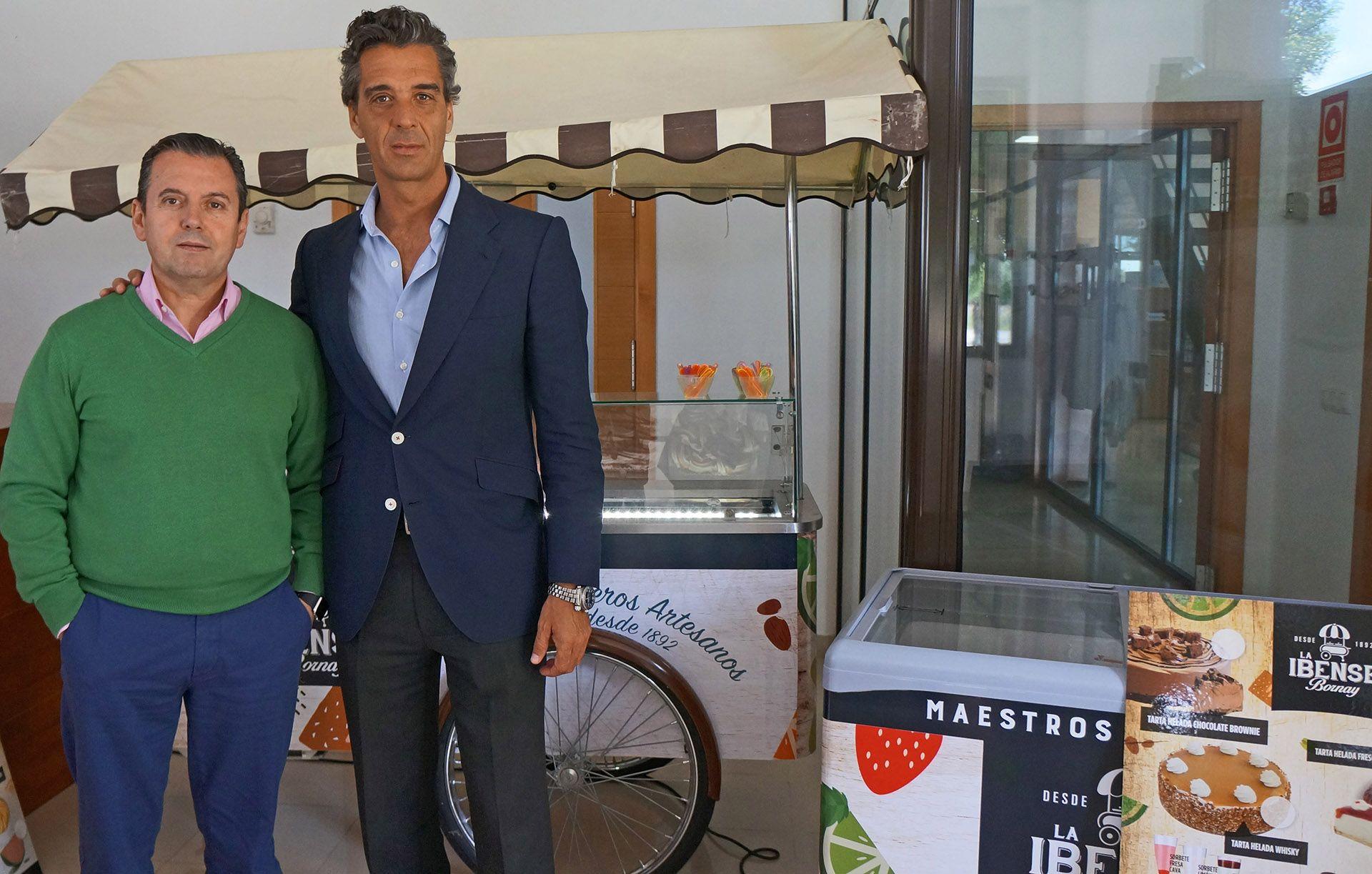 Miguel Tapia, Director General de Tapia Food Service y Patrick Koch Felipe, Director Comercial de La Ibense Bornay