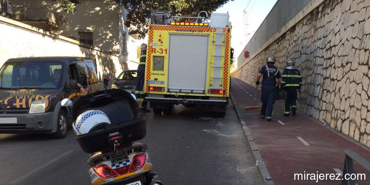 accidente carril bici jerez 2