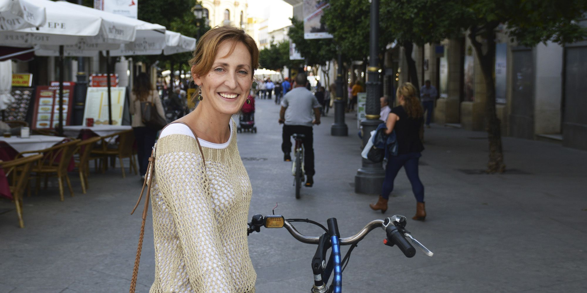 Ángeles González, conocida como Kika, concejal de Ganemos Jerez