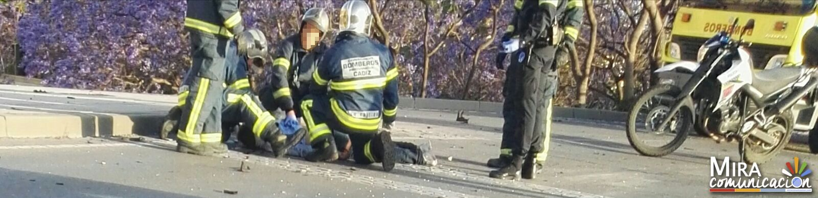 Herido accidente Jerez 1