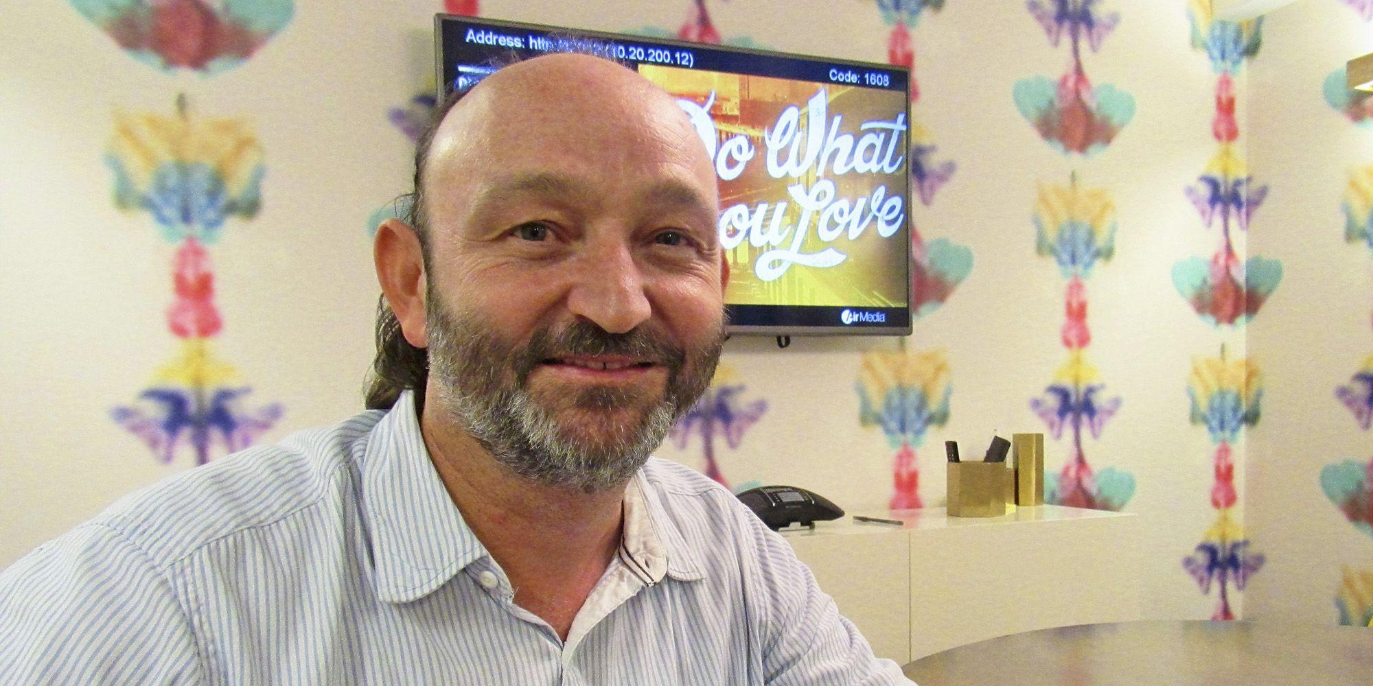Moncho Ferrer en una de las oficinas de FVF-USA, en Washington D.C.
