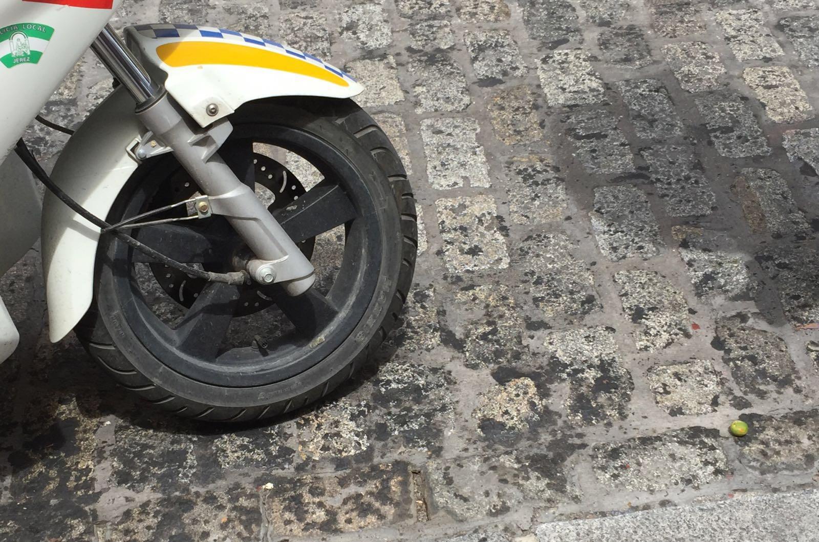 accidente moto calle larga 4