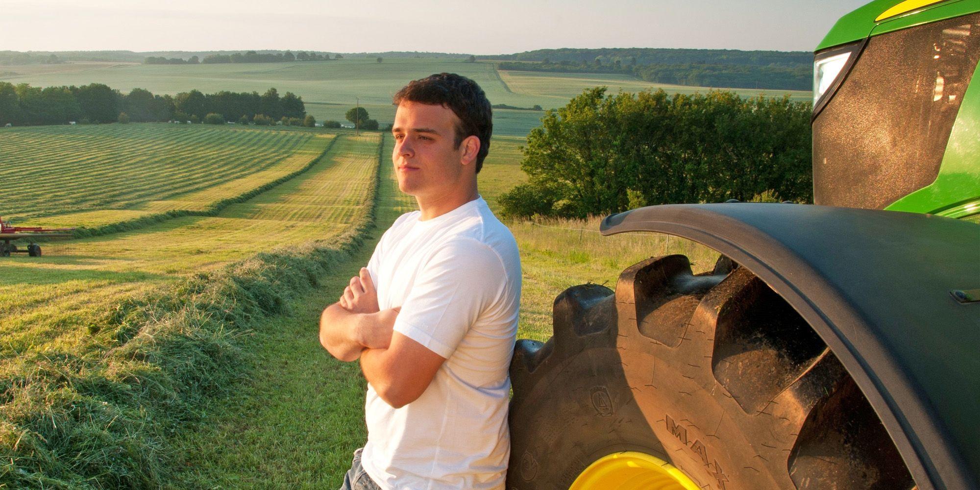 jovenes agricultores