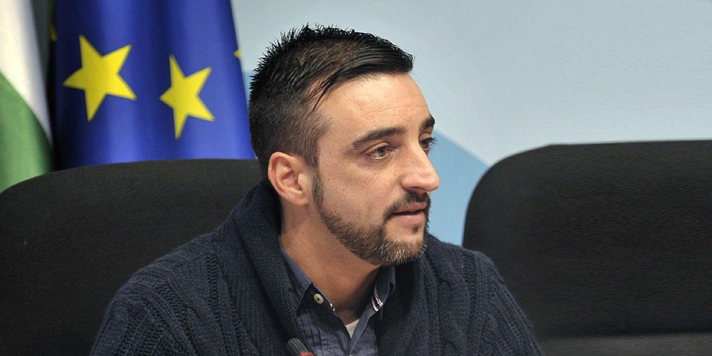 Jose Antonio Díaz, en rueda de prensa