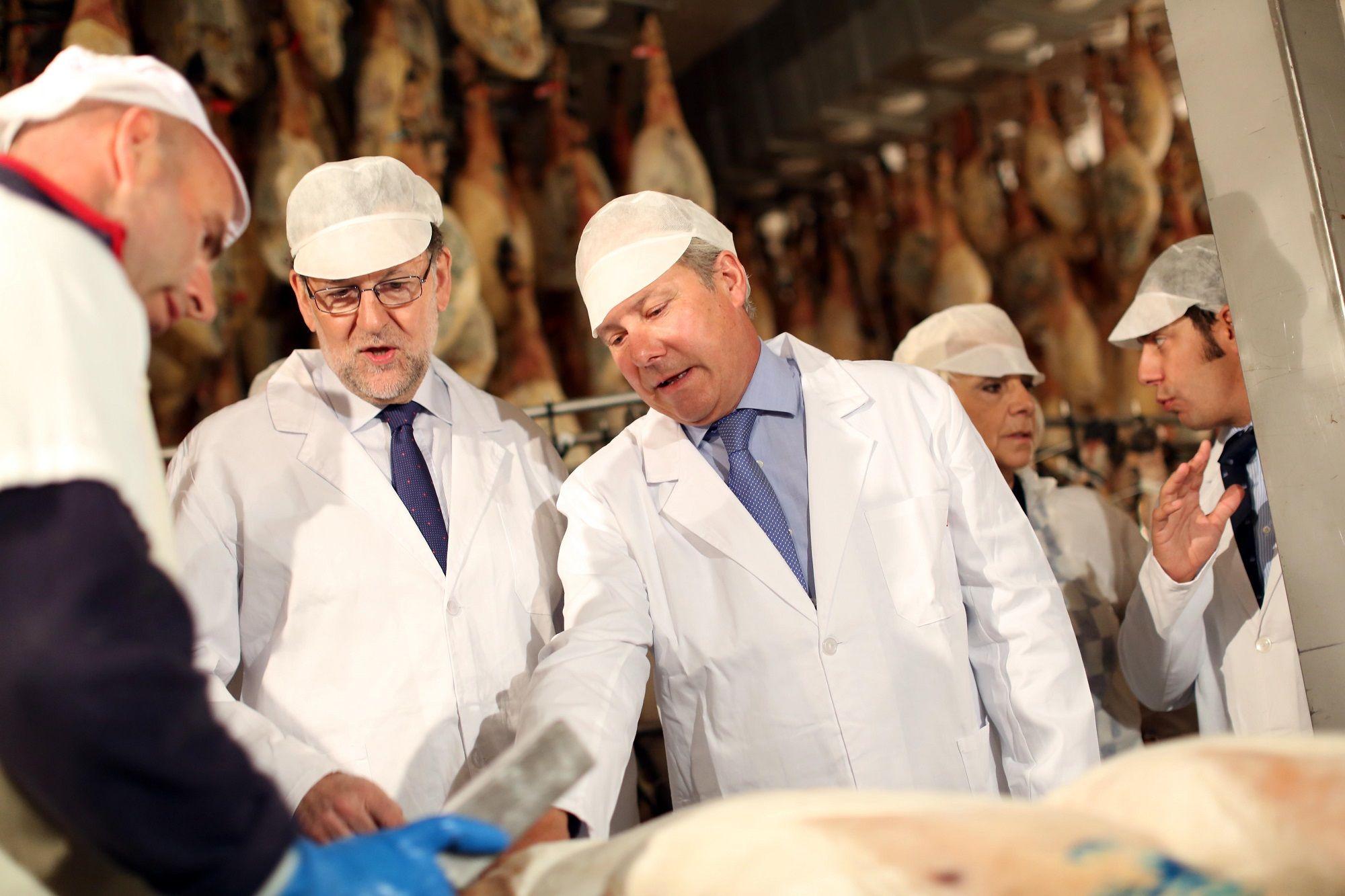 En su visita a Jerez, Mariano Rajoy conversa con José Manuel Martín de Montesierra, 08JUN2016 | Juan Carlos Corchado para MIRA Jerez