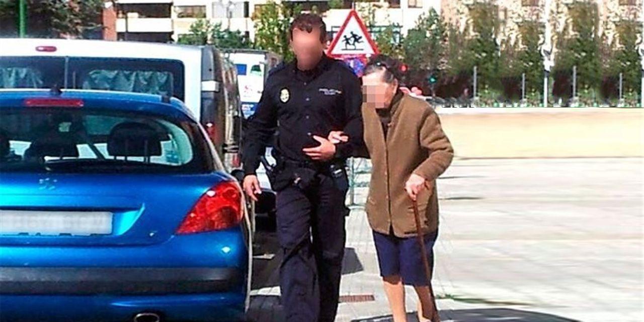 policia nacional personas mayores 1