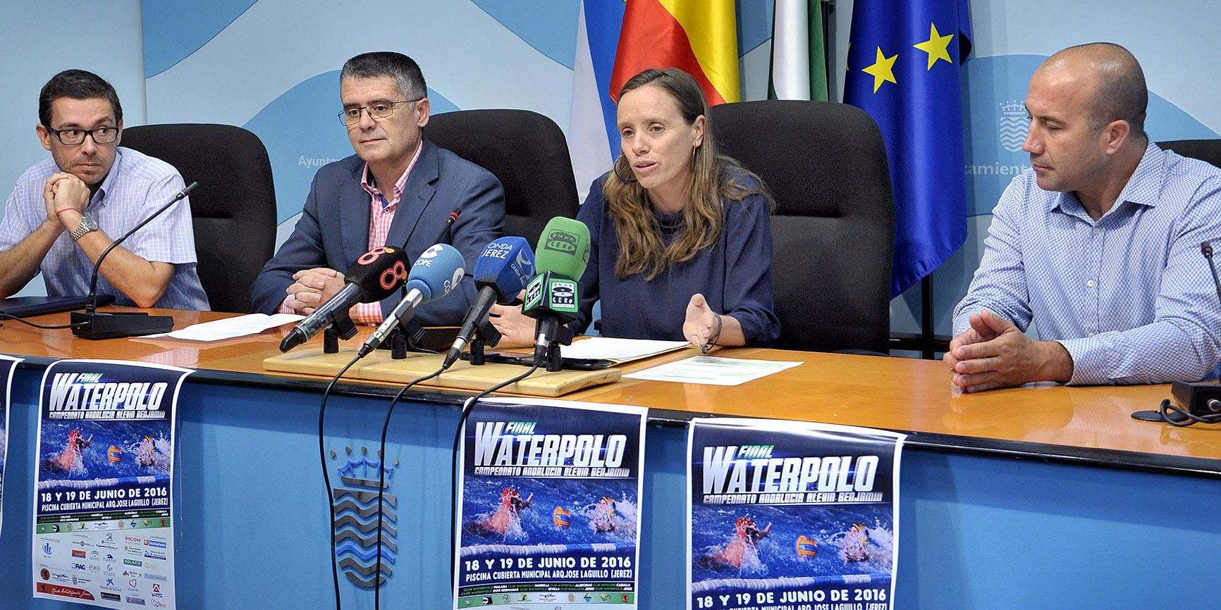 Laura Alvarez pres Cto Andalucia Waterpolo 1
