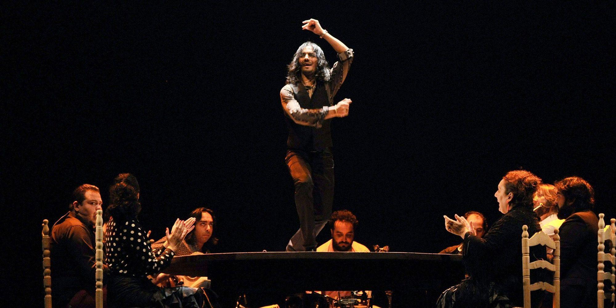 Farruquito en una actuación