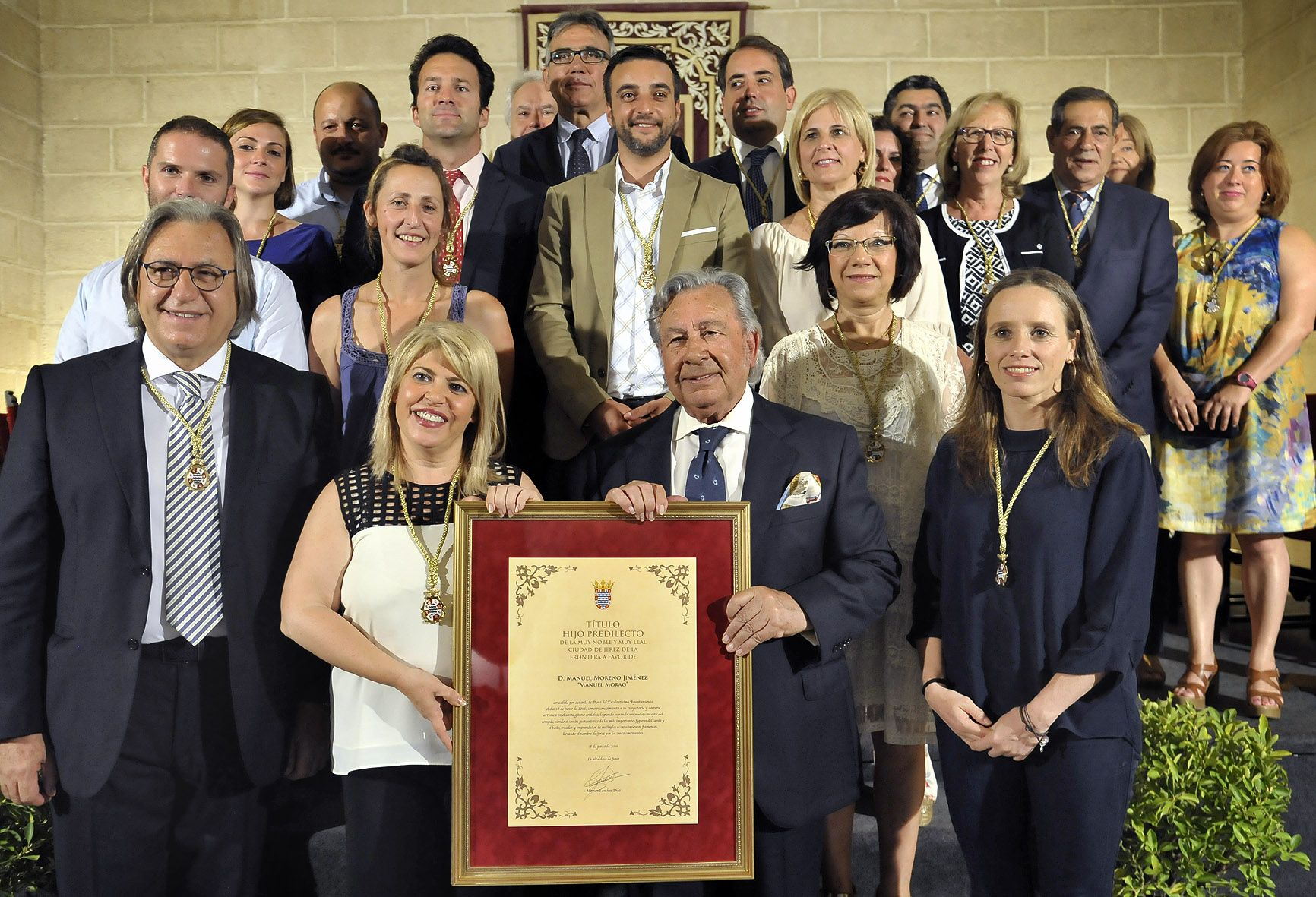 Alcaldesa preside Pleno Hijo Predilecto Manuel Morao _ Foto Manu Lopez Iglesias _ 04